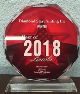 Painter of the Year 2018 Lincoln CA